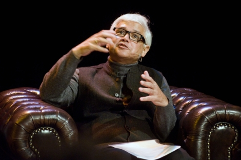 Amitav Ghosh at Imagining Europe © ECF / Jan Boeve